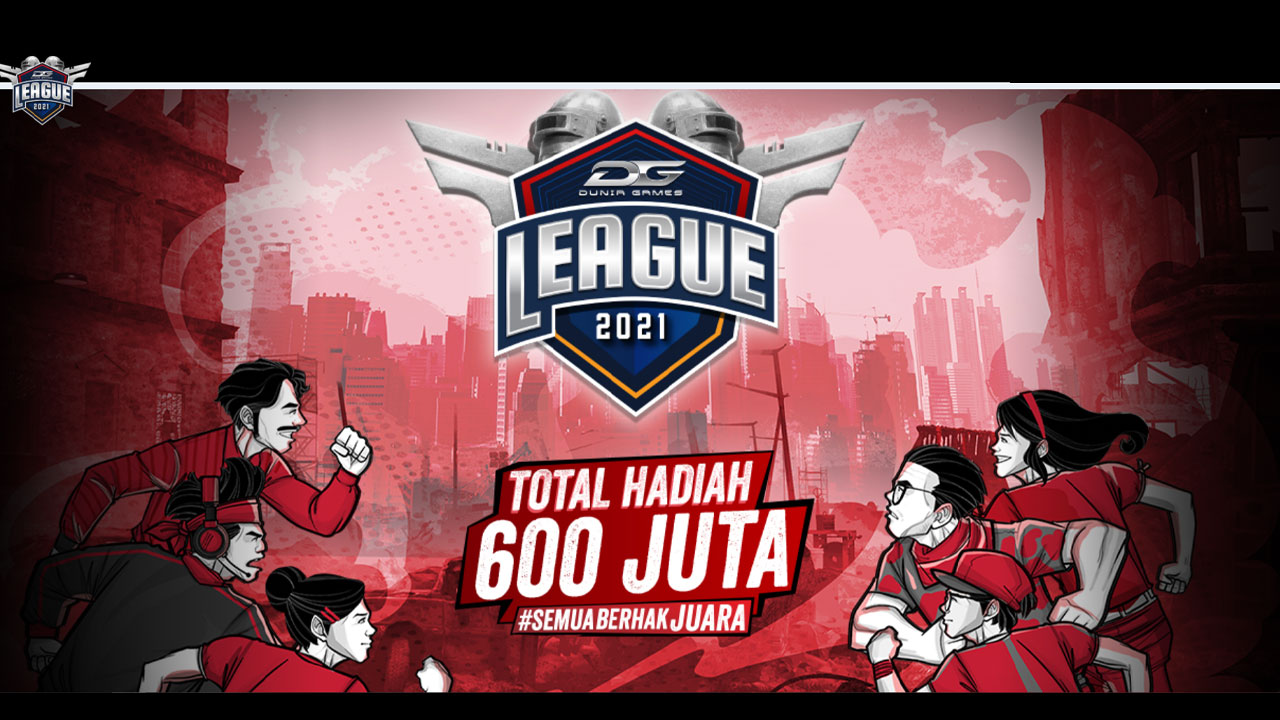 Register for Dunia Games League 2021, The Esports League with a Total Prize of IDR 600 Million!