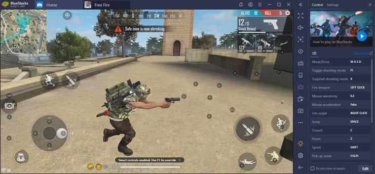 Hasil gambar untuk download free fire di emulator pc