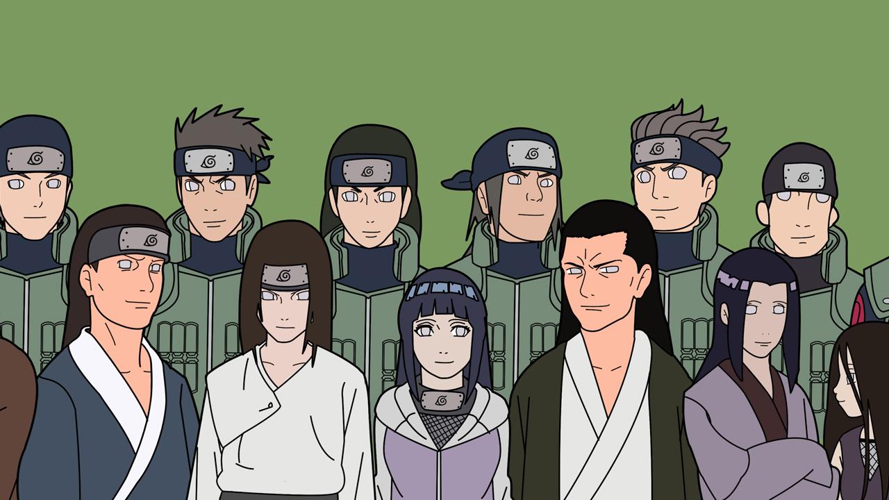 Hyuga Clan Animeinterface