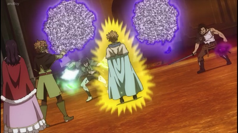Watch Black Clover Episode 109 The Battle Of Spatial Magic Finral Vs Langris Dunia Games