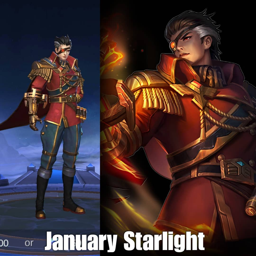 Valir Mobile Legends New Skin For Starlight Member January 2020