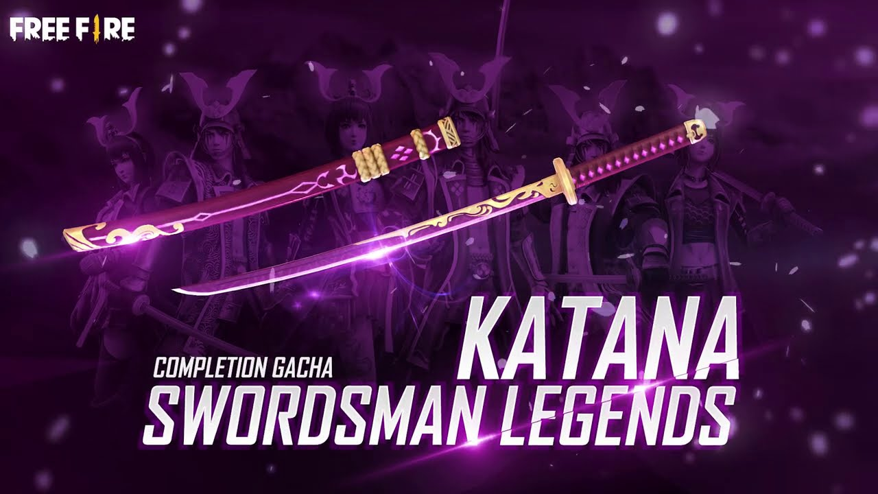 Katana Swordsman Legends Skin is Now Available in Free Fire, Ge It Now! | Dunia Games