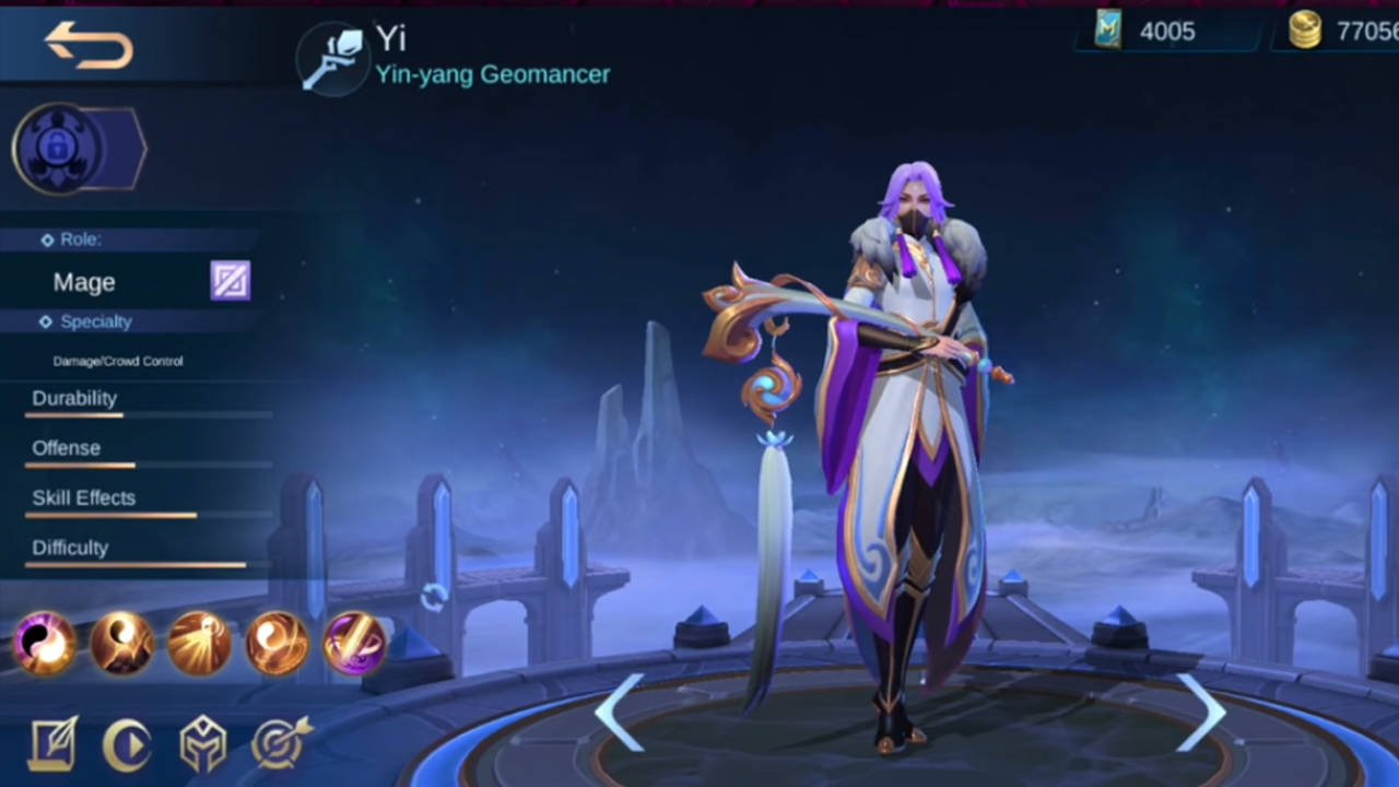 Mobile Legends Heropedia Yi The New Yin And Yang Mage