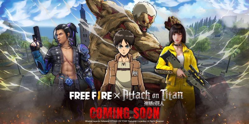 Garena Confirms Free Fire X Attack Of Titan Collaboration Will Feature Survey Corps Costume Dunia Games