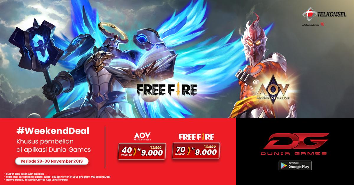 Weekend Deal Dunia Games Promo Weekend 29 30 November 2019 Dunia Games