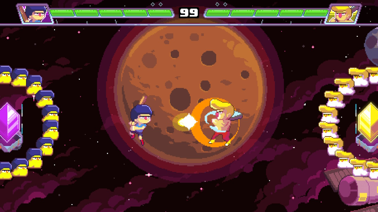 gimindo ultra space battle brawl game lokal seru yang