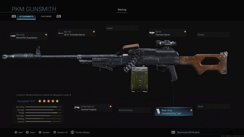 The list of the Best Call of Duty Warzone Weapons, the